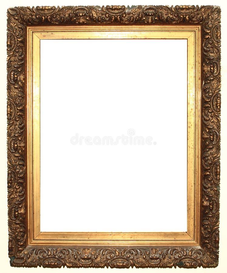 Oud frame royalty-vrije stock afbeeldingen