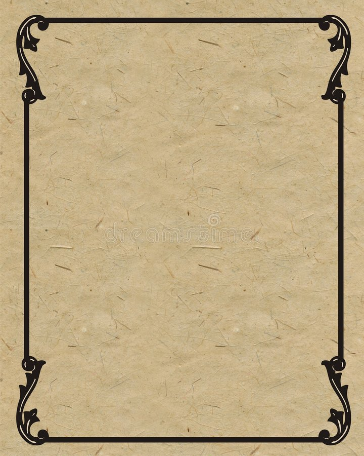 Oud frame royalty-vrije illustratie