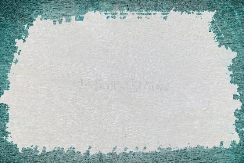 Oud gebarsten lichtblauw fornuis, stock afbeeldingen