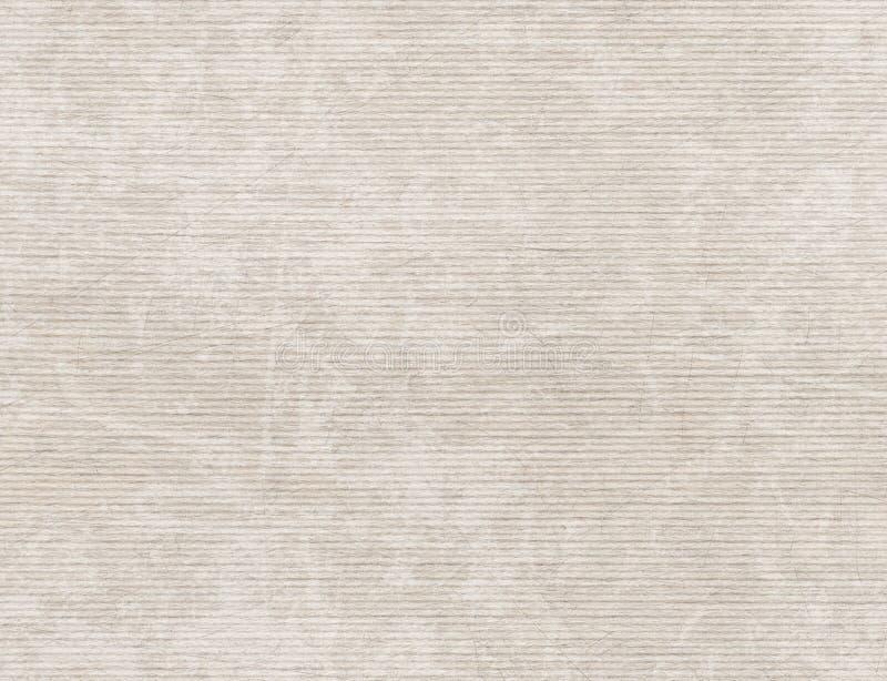 Oud gekrast broun verpakkend document, uitstekende naadloze patroonbac royalty-vrije stock afbeelding