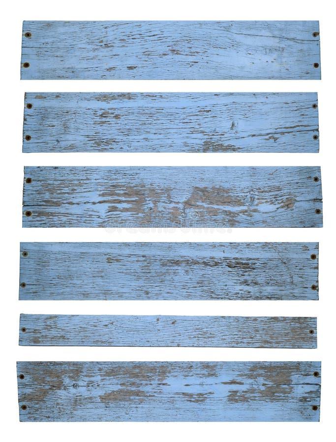 Oud geschilderd hout royalty-vrije stock afbeelding