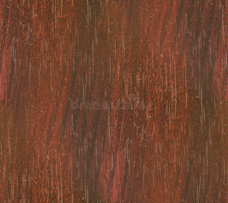 Oud geschilderd hout met afgebroken rode verf royalty-vrije stock foto