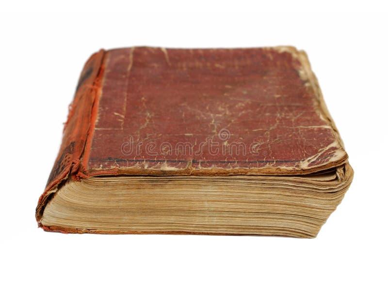 Oud geslagen boek stock foto's