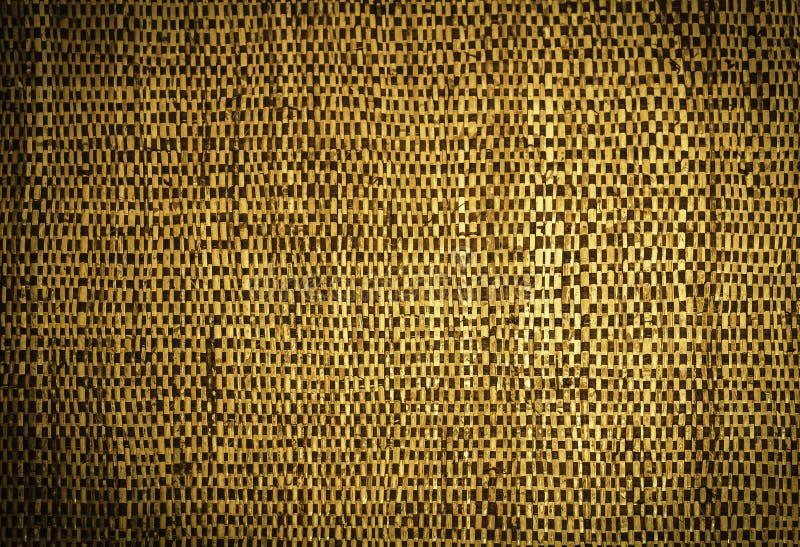 Oud geweven houten patroon royalty-vrije stock foto's