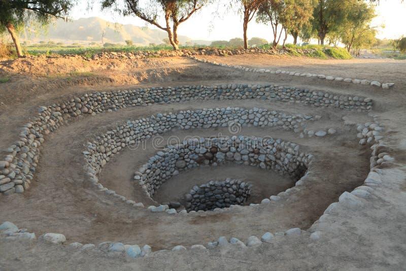 Oud goed van de Nazca-Cultuur stock afbeelding