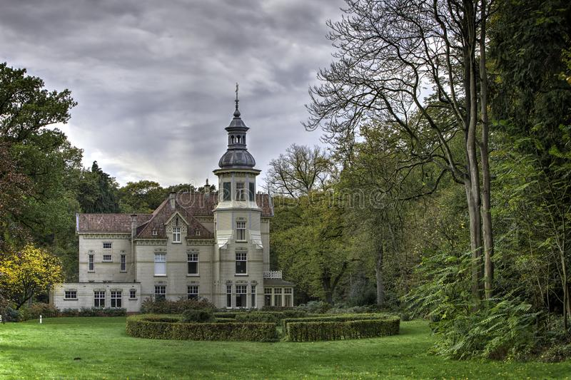 The Oud Groevenbeek Villa. The Art Nouveau villa on the Oud Groevenbeek estate in Gelderland, the Netherlands. The estate is a protected national monument and