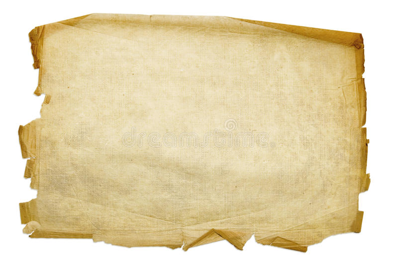 Oud grungedocument vector illustratie