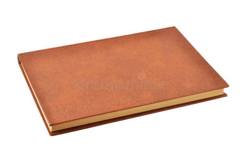 Oud hardcoverboek stock afbeeldingen