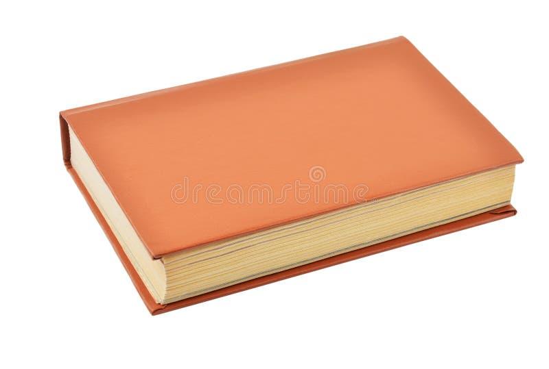Oud hardcoverboek royalty-vrije stock afbeelding