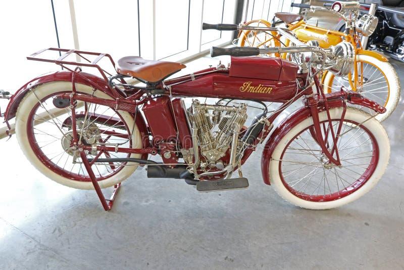 Oud Harley Davidson stock foto