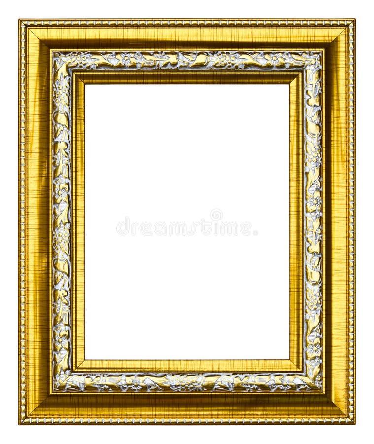 Oud het beeldframe van de stijl gouden foto stock foto's