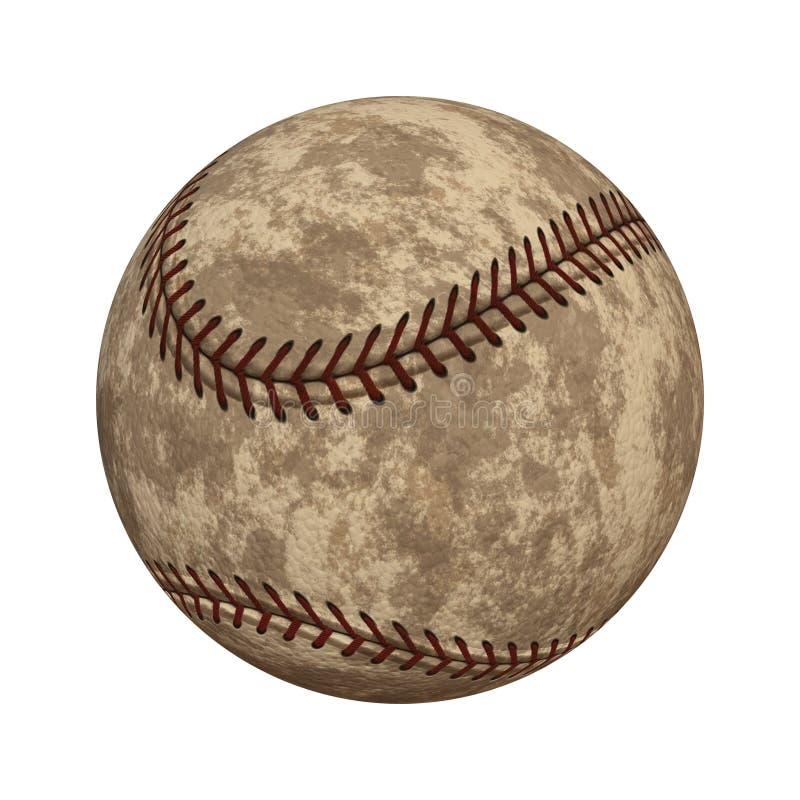 Oud honkbal vector illustratie