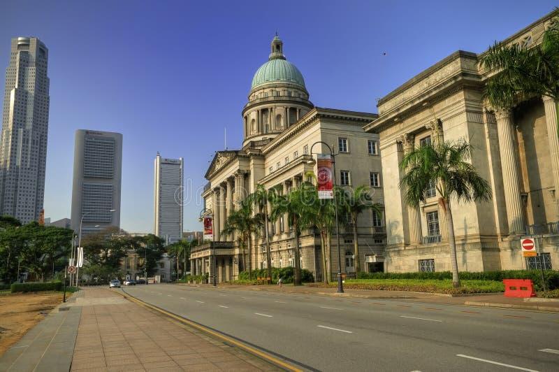 Oud Hooggerechtshof, Singapore royalty-vrije stock foto's