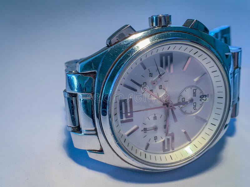 Oud horloge royalty-vrije stock afbeeldingen