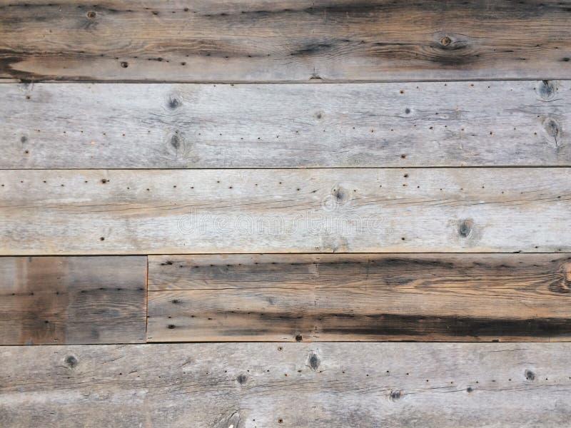Oud hout die textuur met panelen bekleden stock afbeeldingen