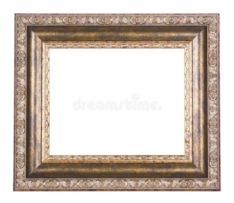 Oud houten kader stock foto
