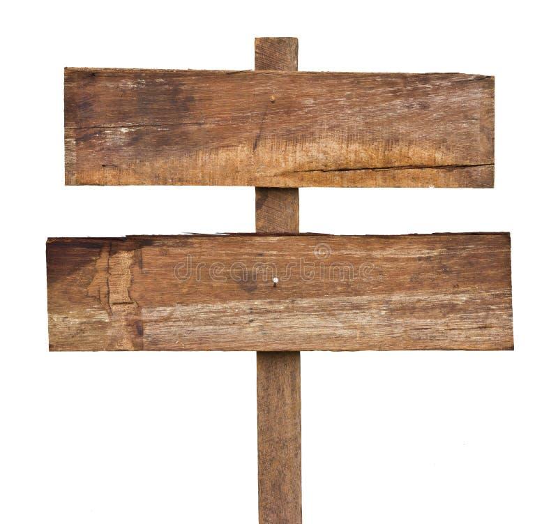 Oud houten teken. royalty-vrije stock afbeeldingen