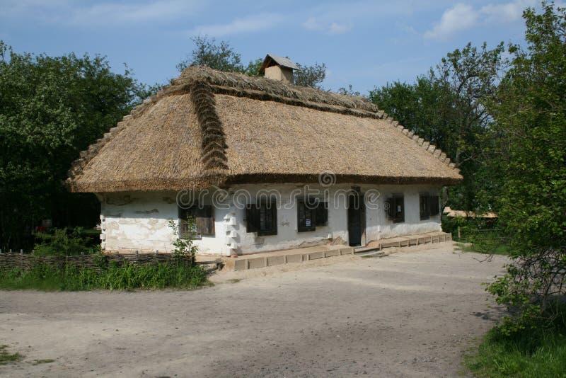 Oud huis stock fotografie