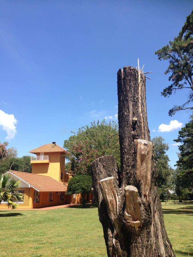 Oud huis in Buenos aires Argentinië royalty-vrije stock afbeeldingen