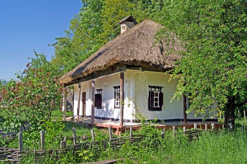 Oud huis in de Oekraïne royalty-vrije stock foto