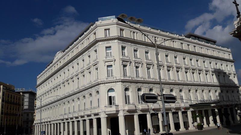 Oud huis in historisch deel van Cuba royalty-vrije stock afbeeldingen