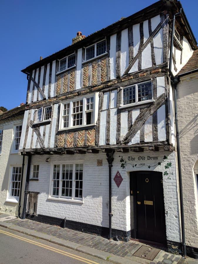 Oud huis van Kent stock afbeelding