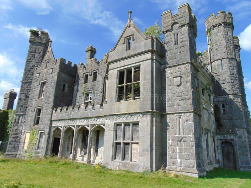 Oud Iers kasteel royalty-vrije stock fotografie