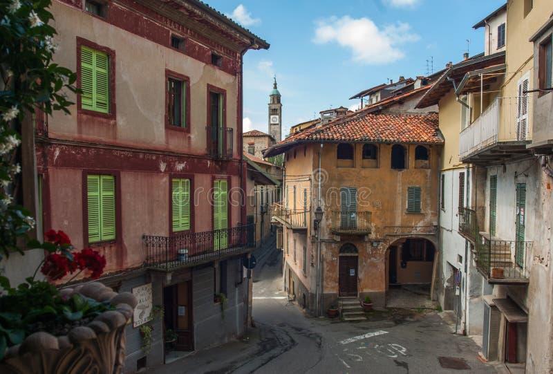 Oud Italiaans dorp royalty-vrije stock foto