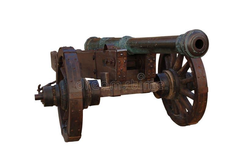 Oud kanon stock fotografie
