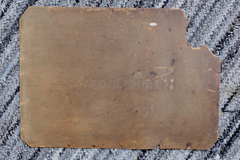 Oud karton stock fotografie