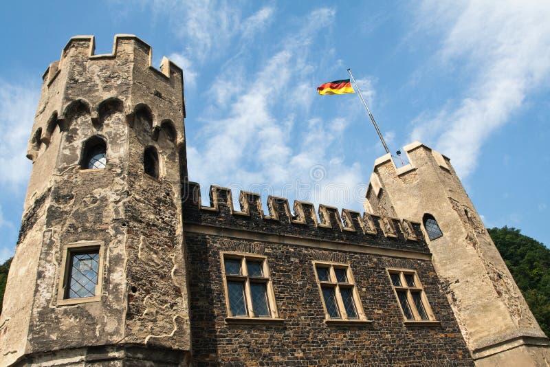 Oud kasteel in Duitsland royalty-vrije stock foto's
