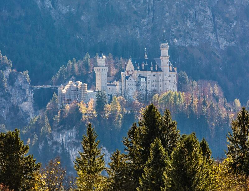 Oud kasteel in Duitsland stock fotografie