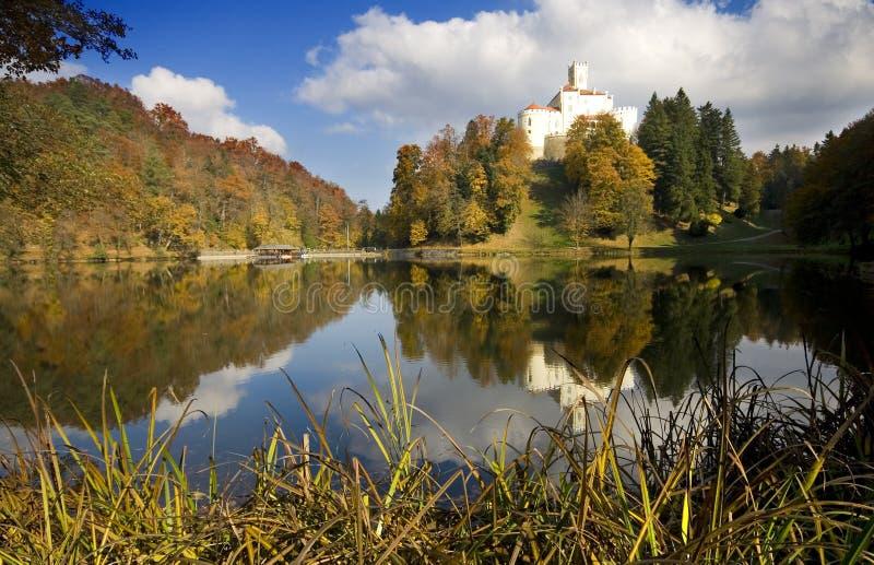 Oud kasteel in Kroatië royalty-vrije stock foto's