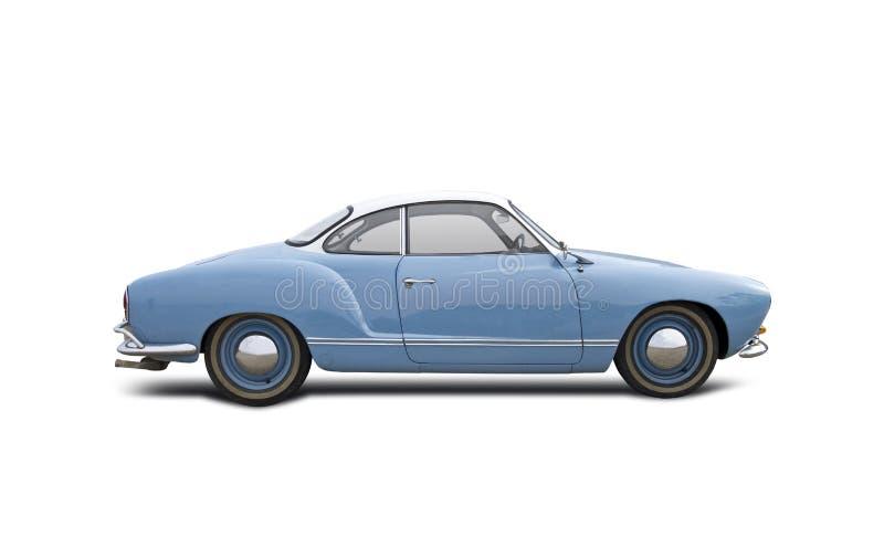Oud klassiek autovw Karmann Ghia stock afbeelding
