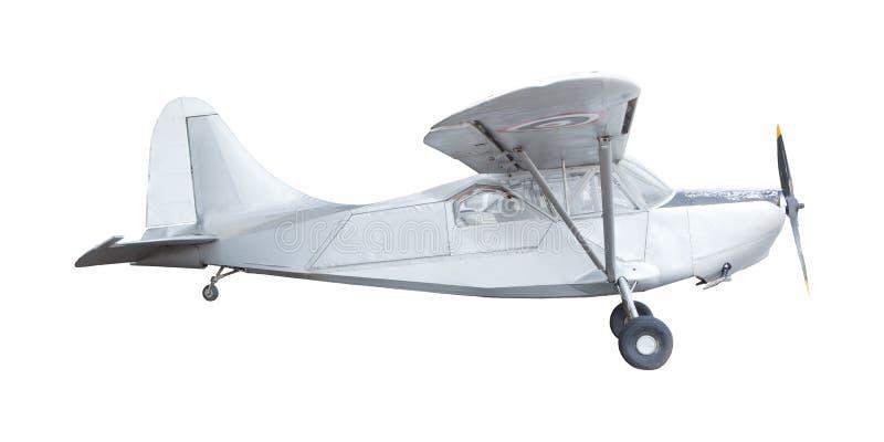 Oud klassiek vliegtuig stock foto's