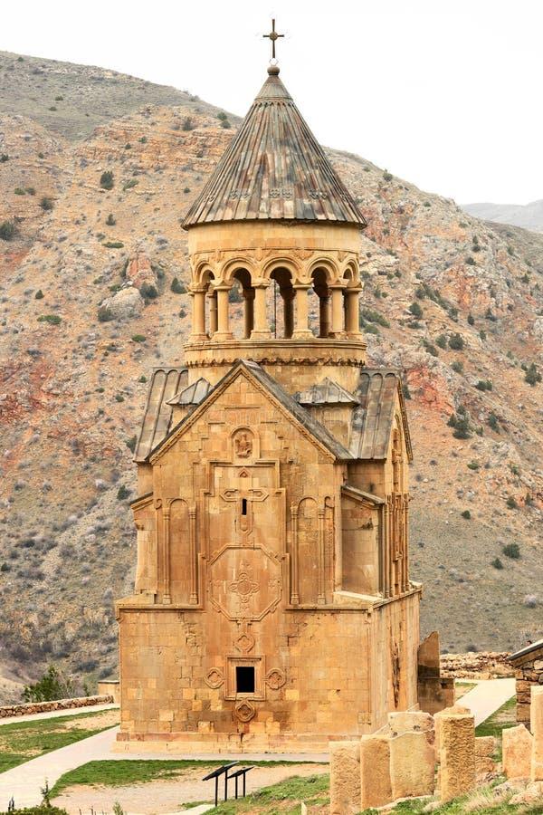 Oud klooster Noravank in Armenië royalty-vrije stock foto's