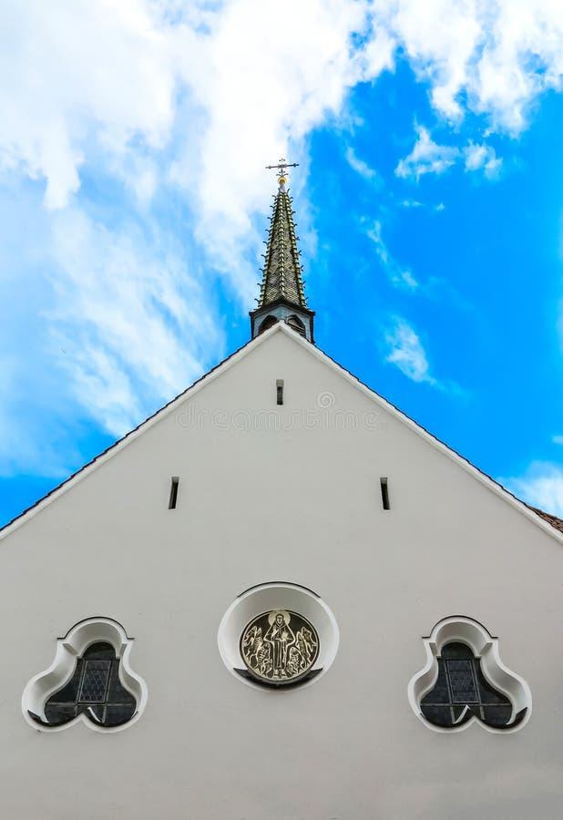Oud klooster in Slechte Saulgau, Duitsland royalty-vrije stock afbeelding
