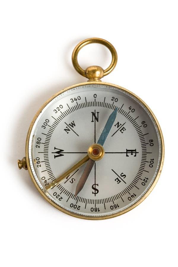 Oud Kompas royalty-vrije stock afbeelding