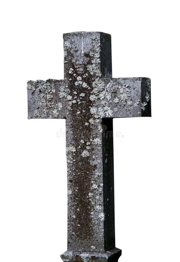 Oud kruis stock fotografie