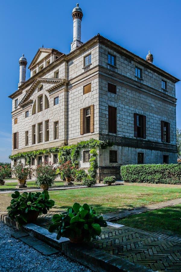 Oud La Malcontenta van Foscari van de villa royalty-vrije stock afbeelding