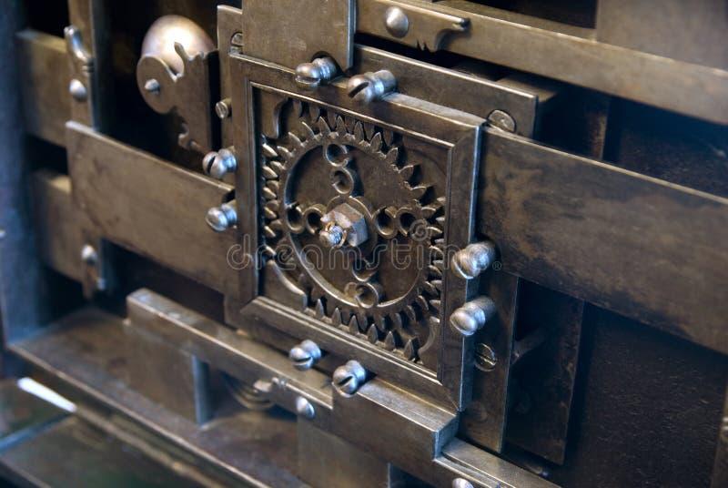 Oud mechanisme stock foto's