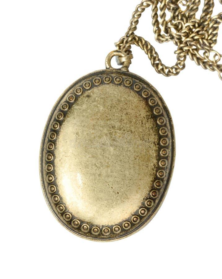 Oud Medaillon royalty-vrije stock foto