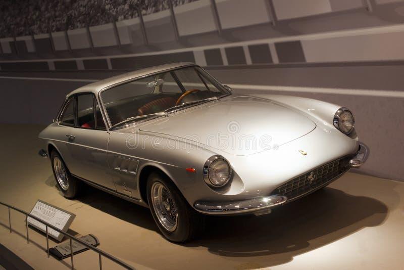 Oud Model Ferrari stock foto