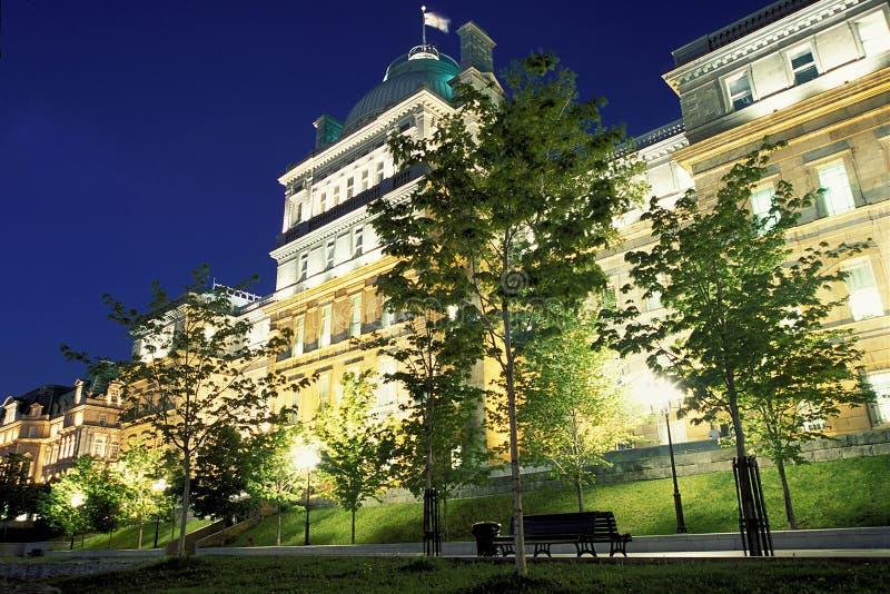 Oud Montreal stock foto