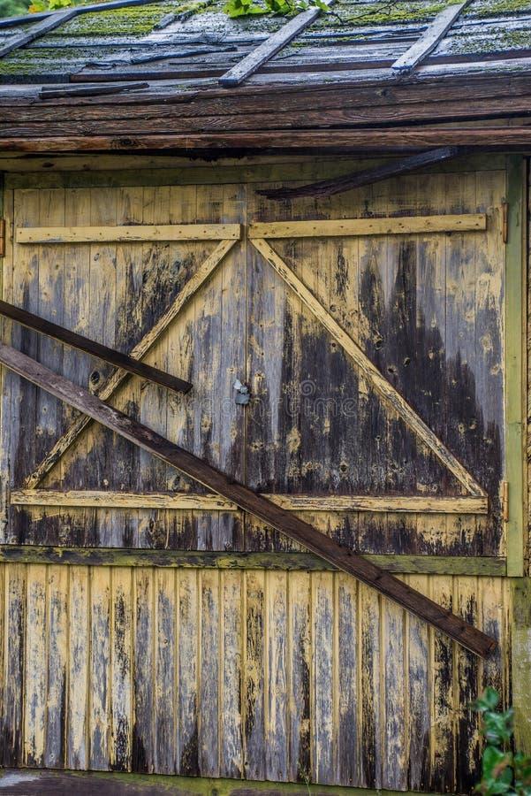 Oud muurdetail stock fotografie