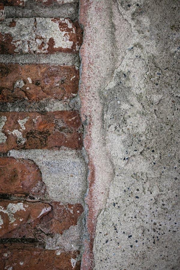 Oud muurdetail stock afbeelding