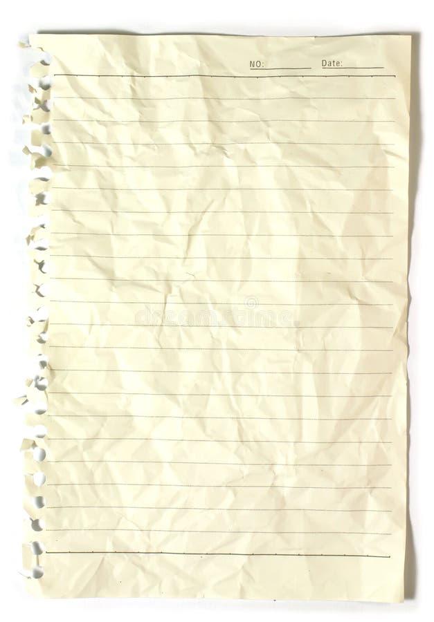 Oud Notitieboekje Royalty-vrije Stock Foto