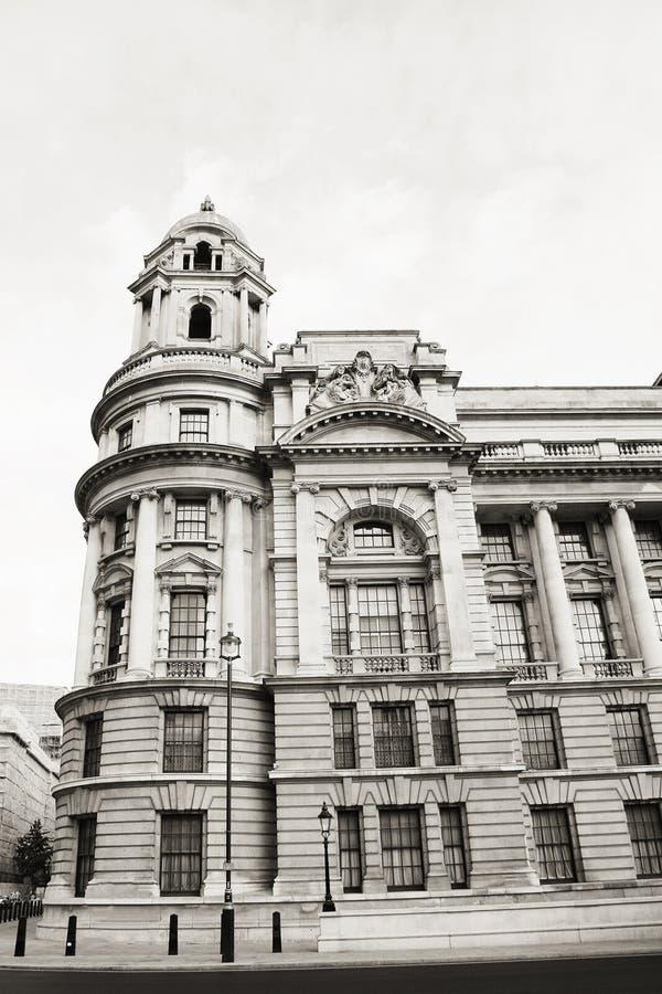 Oud Oorlogsbureau, Ministerie van Defensie, Londen stock fotografie