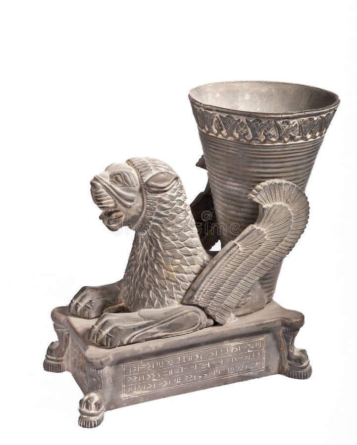 Oud overblijfsel en geschiedenis van Perzië royalty-vrije stock foto