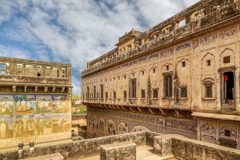 Oud paleis India stock fotografie